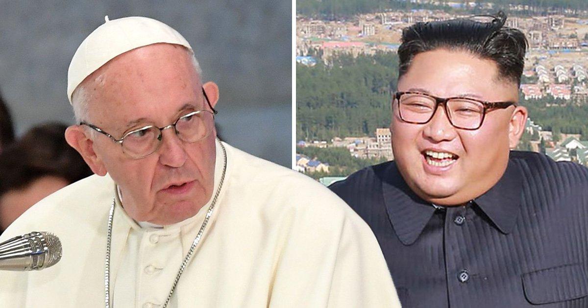 Kim Jong-un wants Pope Francis to visit North Korea