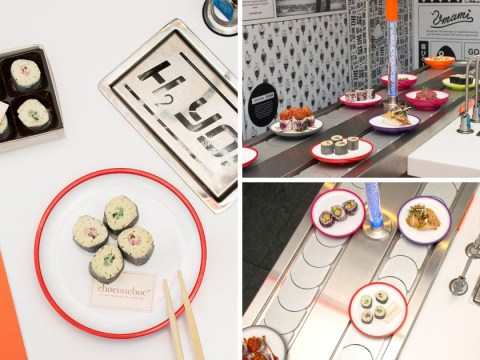 YO! Sushi are selling maki rolls made entirely from chocolate