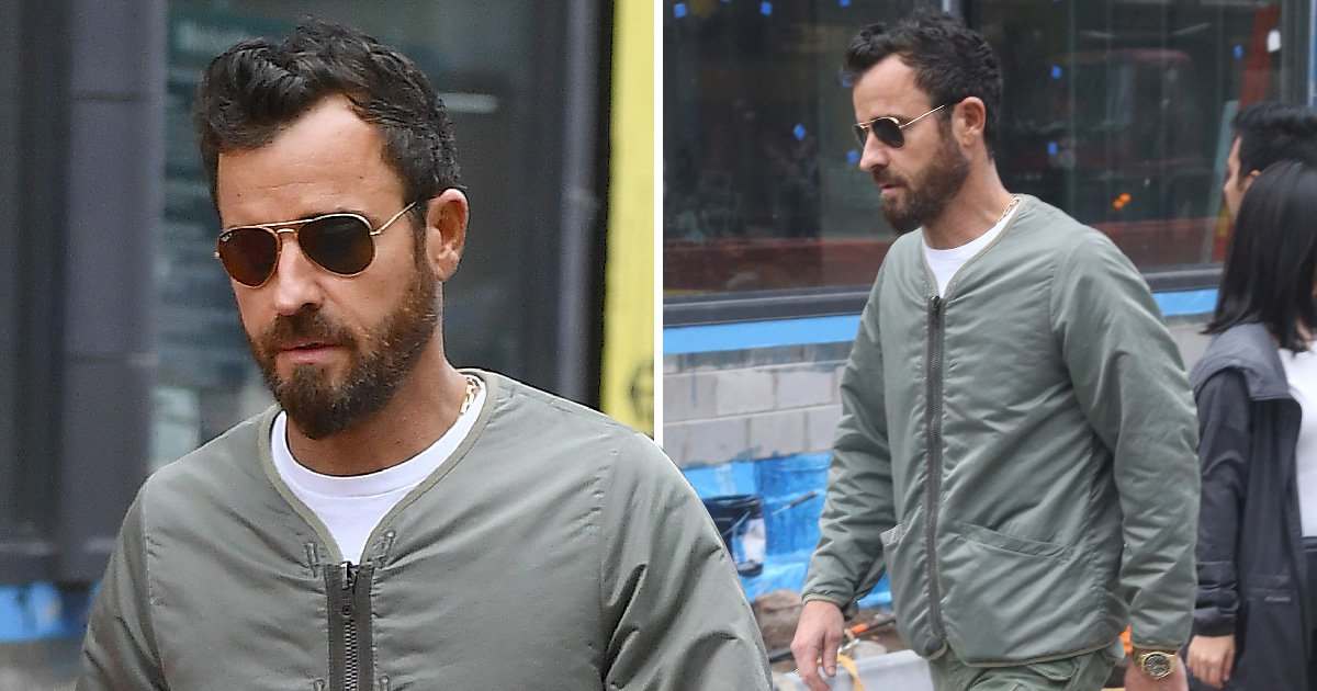 Justin Theroux chills in the Big Apple after claiming split from Jennifer Aniston was 'the most gentle separation'