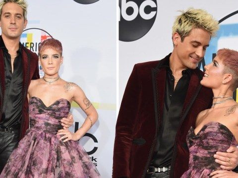 Halsey and G-Eazy confirm they're back on as they return to the red carpet as a couple at the AMAs