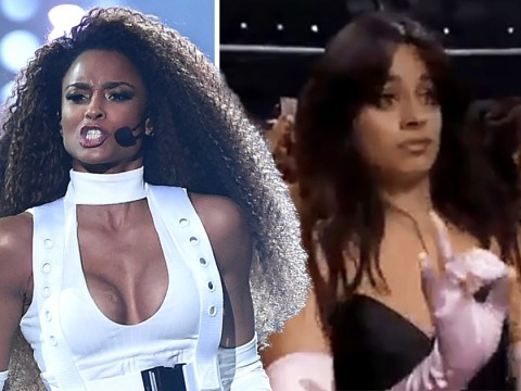 Fans can't handle Camila Cabello's reaction to Ciara's epic AMAs performance