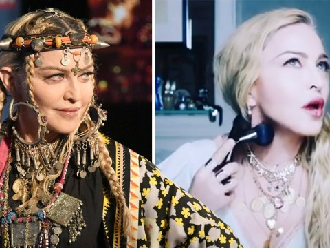 Madonna's face roller mistaken for sex toy as singer sells $200 contouring product