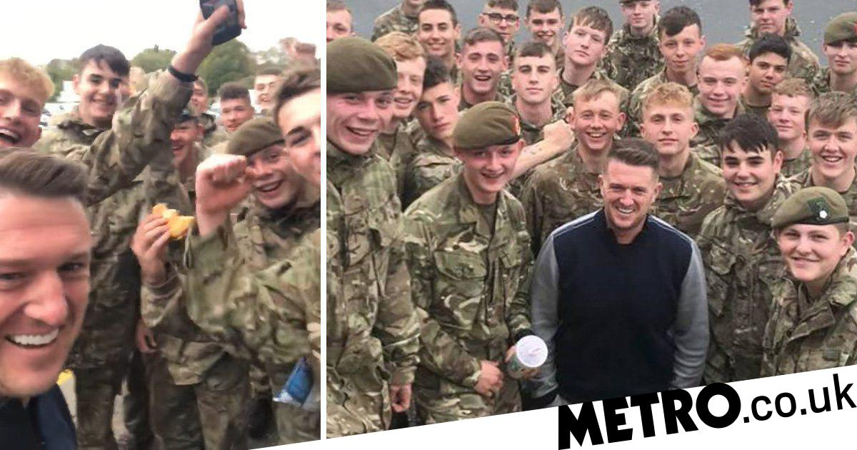 Is Tommy Ready For Prime Time Not At >> Why Chanting Tommy Robinson Got Soldier Kicked Out Army Metro News