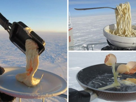 What's it like cooking in Antarctica – the coldest area on earth?