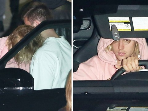 Emotional Justin Bieber supported by pals after Selena Gomez's 'emotional breakdown'