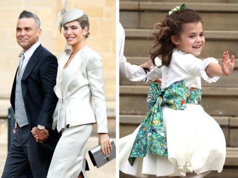 Robbie Williams gave surprise performance at Princess Eugenie's wedding after-party