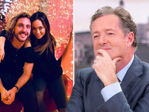 Piers Morgan hopes Strictly's Seann Walsh and Katya Jones have 'full sex' after they 'got away with' kiss