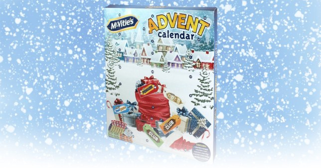 B&M launches McVitie's biscuits filled advent calendar