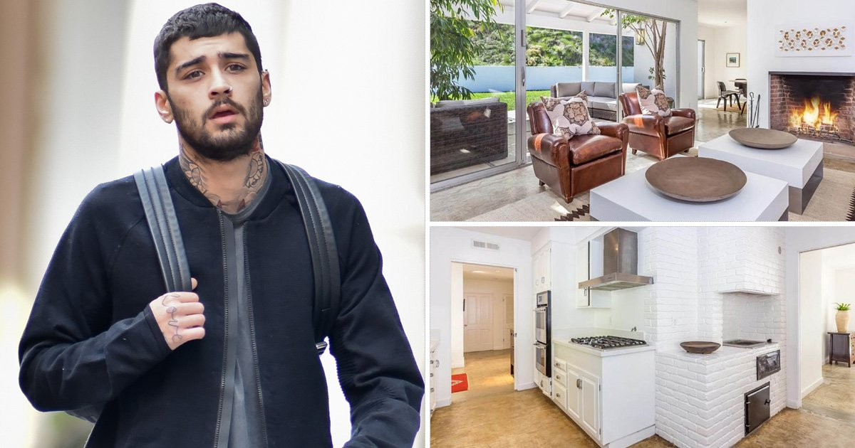 Zayn Malik's lavish Bel Air home is on the market and could be yours for a mere $3.5million