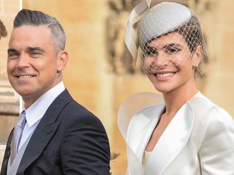 Robbie Williams' wife Ayda Field reveals Meghan Markle dropped clue to pregnancy at royal wedding