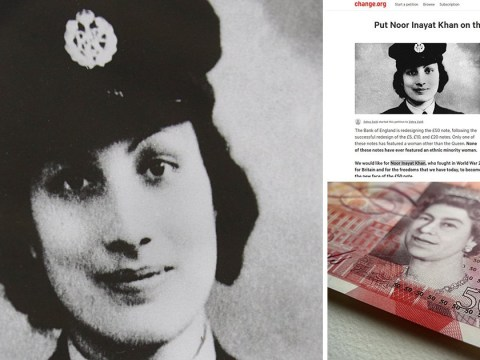 Muslim war heroine could be first ethnic minority to front £50 note