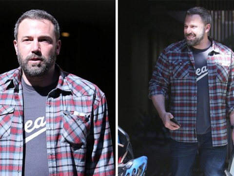 Ben Affleck is all smiles amid claims he's been 'dropped' from future Batman films