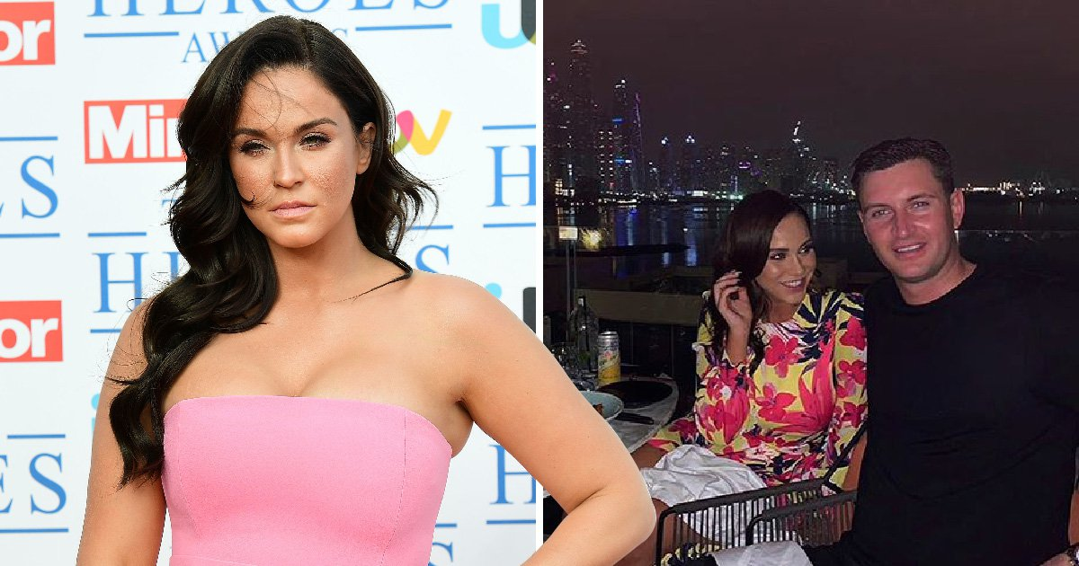 Vicky Pattinson shares emotional message about her relationship amid split rumours
