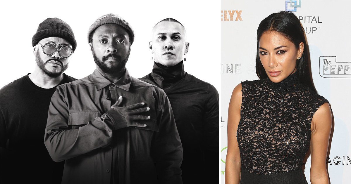 The Black Eyed Peas insist they have not replaced Fergie with Nicole Scherzinger