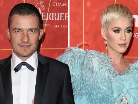 Orlando Bloom supports girlfriend Katy Perry at amfAR gala – despite avoiding her on red carpet