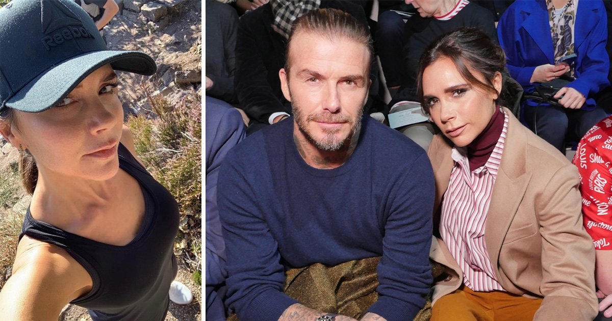 victoria beckham checks into 'emotional wellbeing' spa after dave said marriage is hard