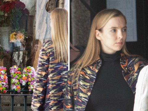 Killing Eve series 2 pictures may answer one huge Villanelle question as Jodie Comer is snapped on set