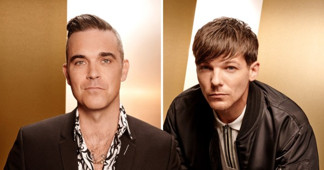 Robbie Williams enrages One Direction fans over comment about X