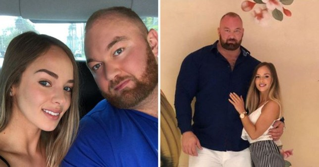 Game Of Thrones' The Mountain marries girlfriend Kelsey Henson in romantic Iceland ceremony