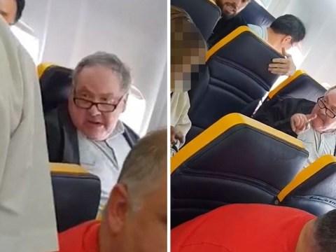 Man filmed hurling racist abuse at woman sat near him on plane