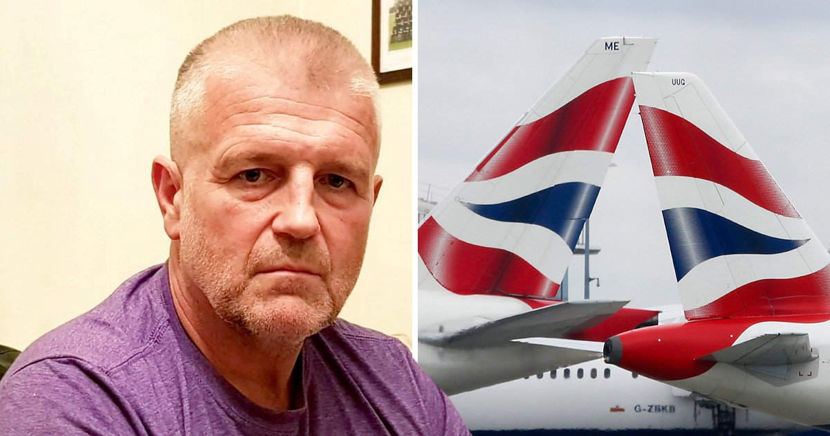 Man hits out at British Airways after sitting in urine-soaked business class seat