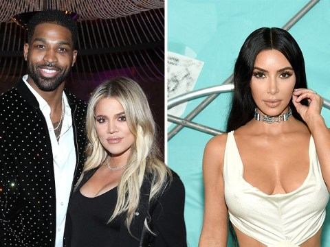 Khloe Kardashian alludes to trouble with Tristan Thompson in birthday message to sister Kim