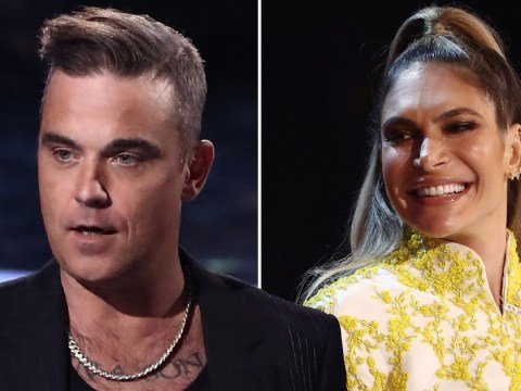 'They're obviously biased' X Factor fans accuse Robbie Williams of 'colluding' with wife Ayda Field after tense sing-off