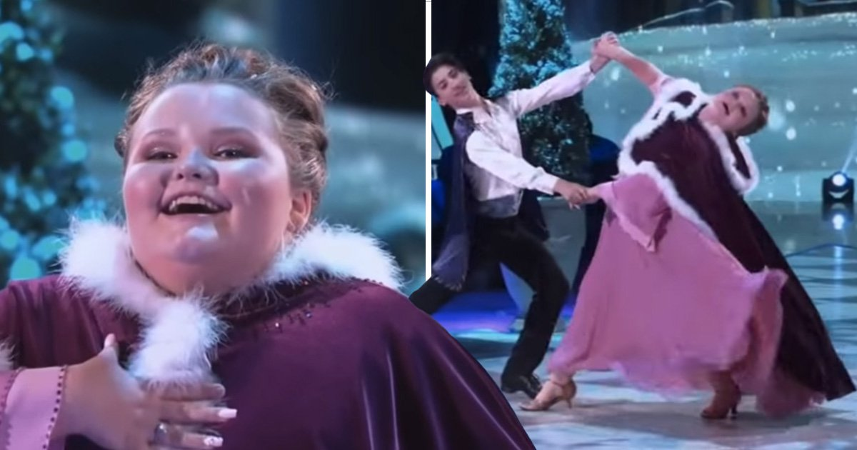 Honey Boo Boo melts hearts with impressive Disney themed Dancing With The Stars performance