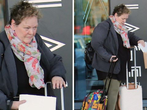 The Chase's Anne Hegerty spotted leaving hotel – is she heading for I'm A Celeb?