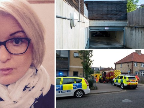 Mother crushed and 'folded' in garage door after asking 'have you ever held on as it goes up?'