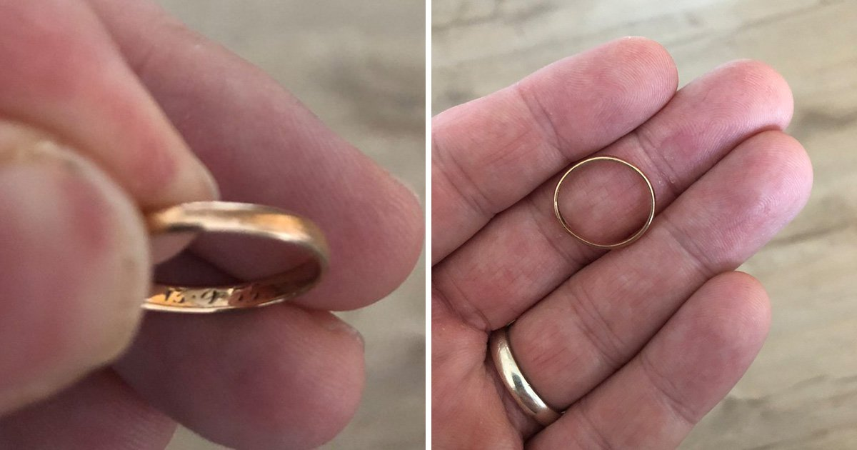 Can you help to find the 80-something-year-old couple that this ring belongs to?