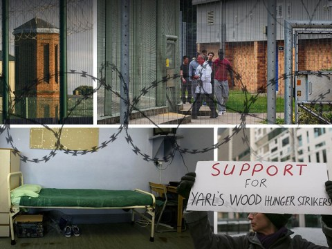 Cut off from the outside world: How migrant detention centres are more like prison