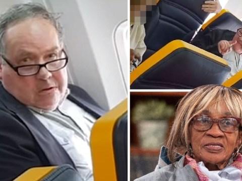 Ryanair passenger who racially abused elderly woman on flight named