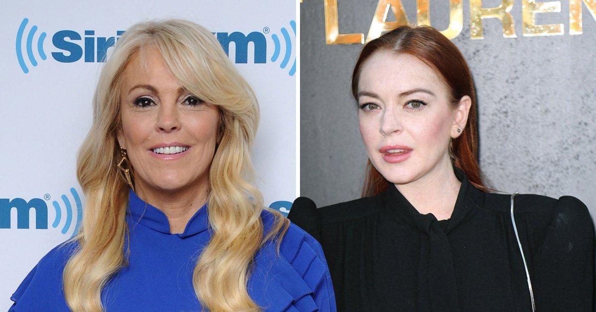 Lindsay Lohan 'secretly dating Swiss boyfriend' as mum blabs on romance