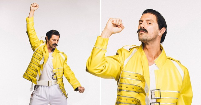 Paddy McGuinness is dressing up as Freddie Mercury for Movember