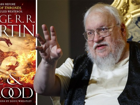 Game of Thrones author George RR Martin's new book previews with picture of Targaryen on the Iron Throne