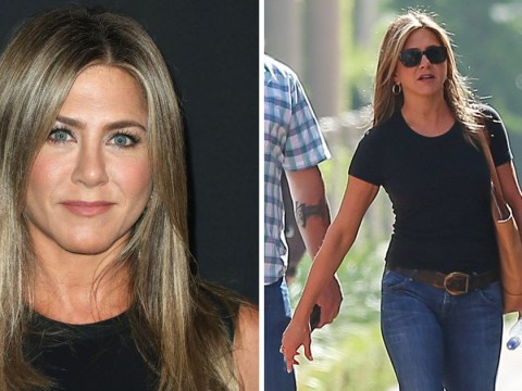 Jennifer Aniston out and about in Beverley Hills as she heads for business meeting