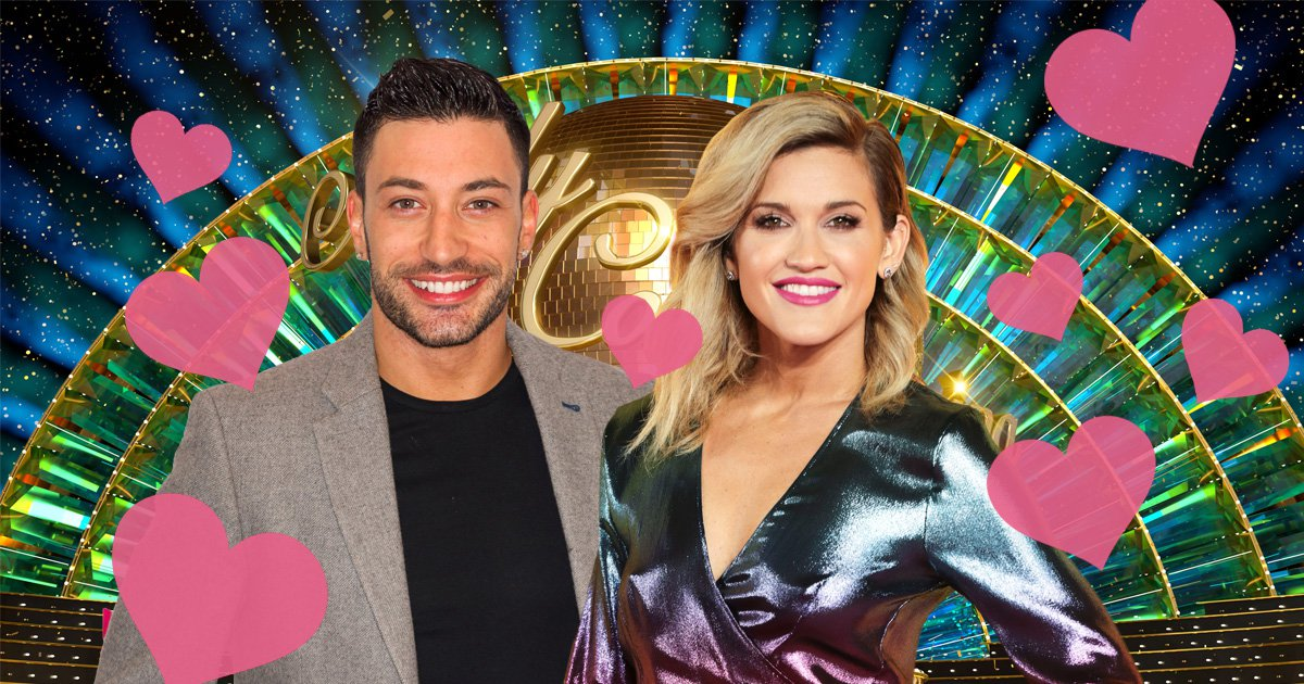 Who is dating on dancing with the stars 2020