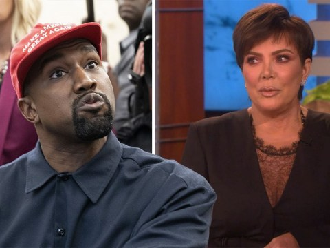 Kris Jenner would rather son-in-law Kanye West keep his controversial views private