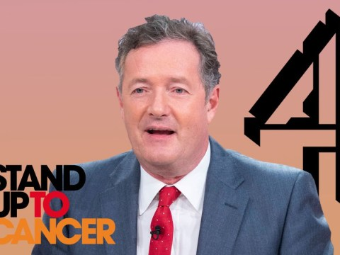 Channel 4 tells Piers Morgan 'go f*** yourself' – and it's all for charity