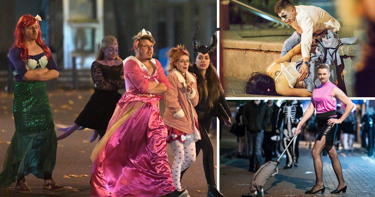 Pictures that show everyone really enjoyed Halloween