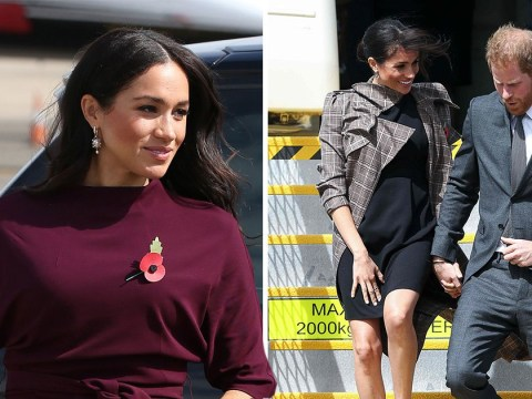 Everything Meghan Markle is wearing in Australia with Prince Harry – from simple Asos £35 dress to showstopping Oscar De La Renta
