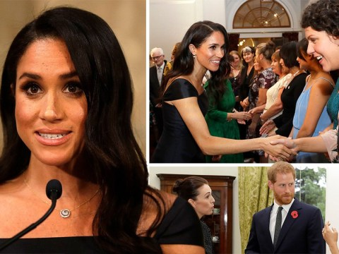 Meghan Markle celebrates suffragettes in powerful speech on feminism