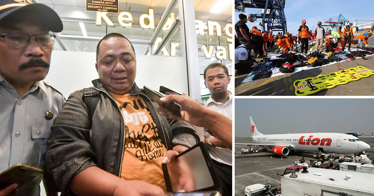 'Luckiest man alive' missed doomed Lion Air flight because of traffic
