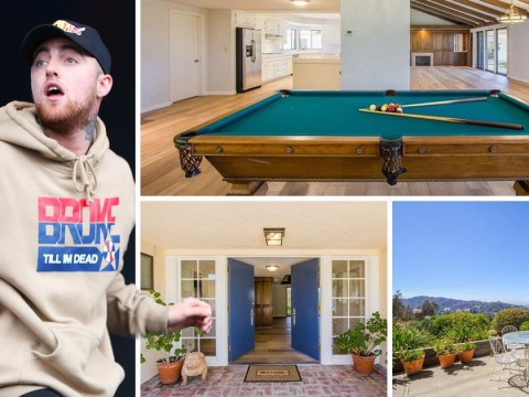 The house that Mac Miller rented is back on the market for $10,000