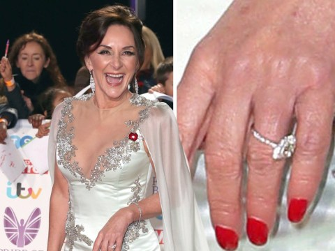 Shirley Ballas caught Googling her engagement ring after denying she's getting married