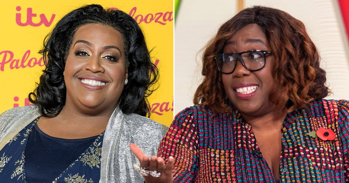 Loose Women's Chizzy Akudolu is always mistaken for Alison Hammond: 'I get that quite a lot'