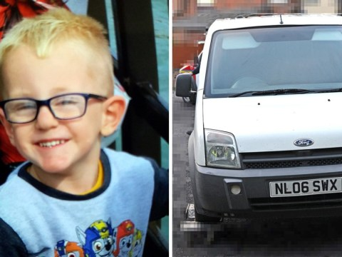 Teenagers arrested after van hit-and-run that left boy, 3, fighting for life