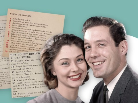 Let's all just ditch Tinder and follow this 1950s advice for getting a husband