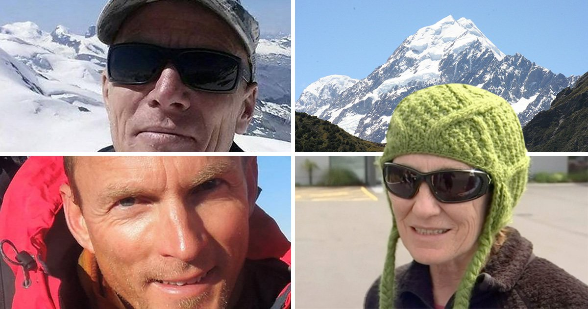 Woman digs her way out of avalanche as two friends die on mountain